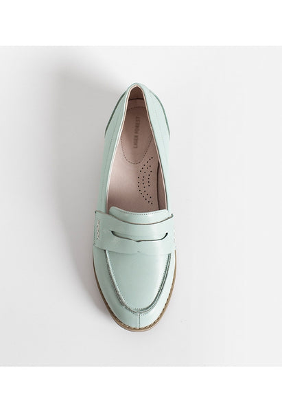 Earth Loafers - Mint - Alison Sman - 2