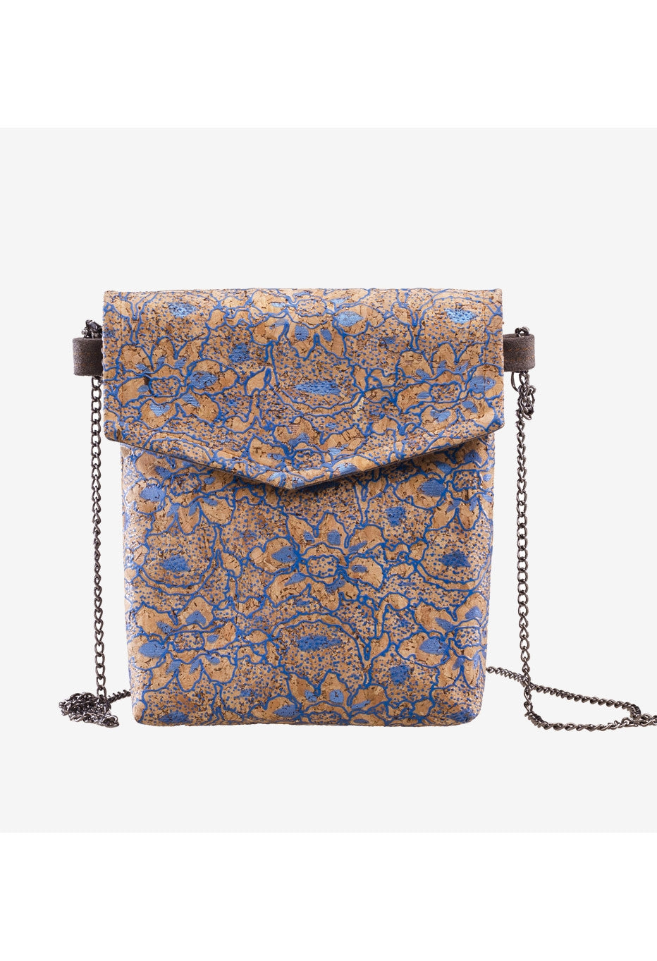 Natural 'Flora' Cork Wood Bag - Alison Sman - 1