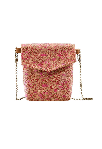 Natural 'Flora' Cork Wood Bag - Alison Sman - 2