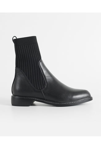 OSLO Genuine Leather Sock Boots