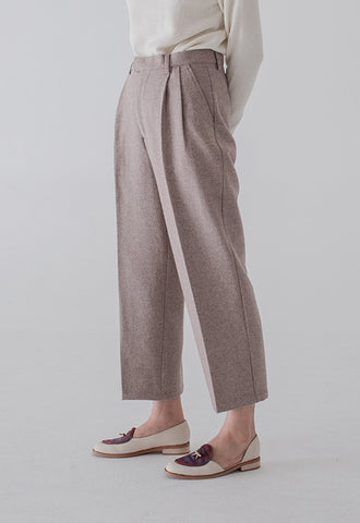 Vitatha Wool Trousers - Camel