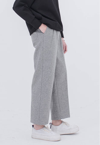 Vitatha Wool Trousers - Grey