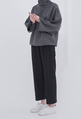 Vitatha Wool Trousers - Black