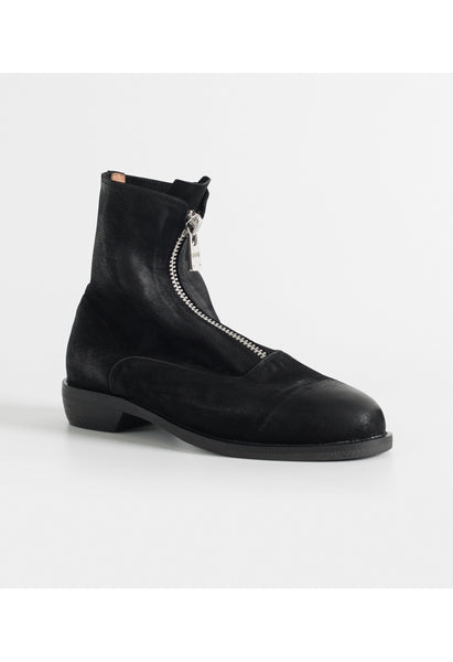 GRUNGE Nubuck Leather Sock Boots