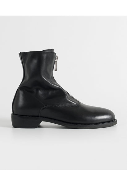 GRUNGE Genuine Leather Sock Boots