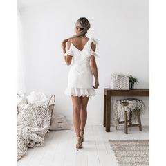 Marin dress in white