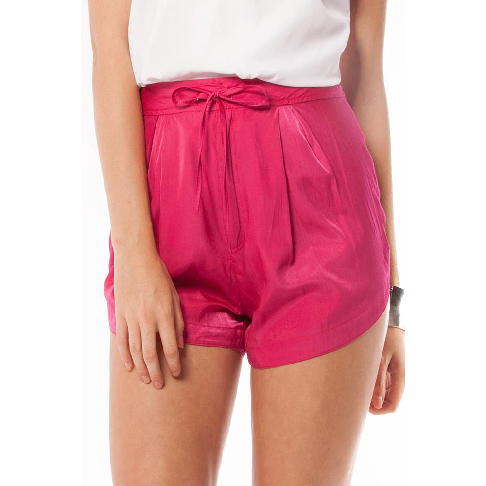 Pink cosmo shorts - Premonition Designs