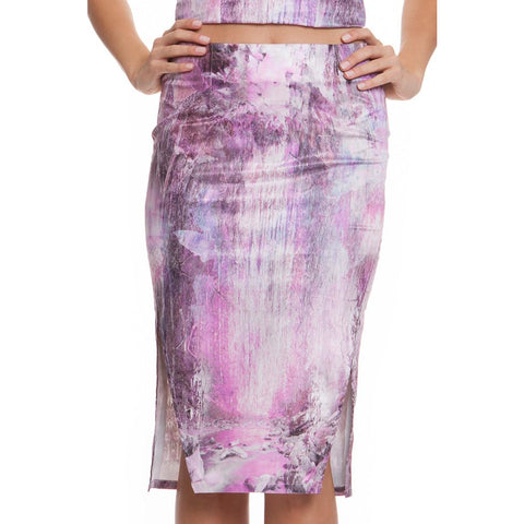 Paradise Falls midi skirt - Premonition Designs