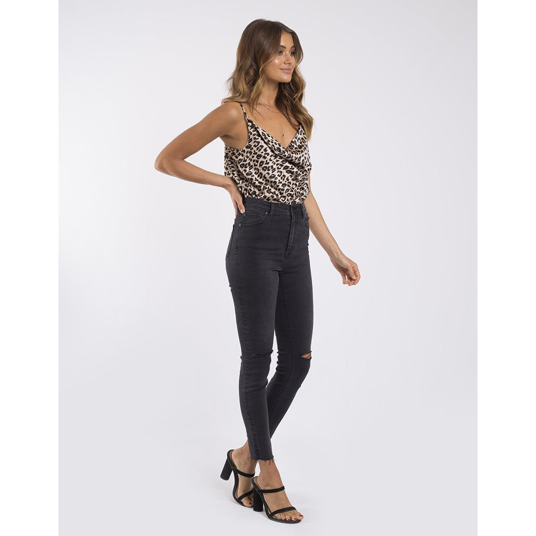 Leopard cami by Jorge