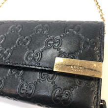 Load image into Gallery viewer, GUCCI Embossed Wallet on a Chain