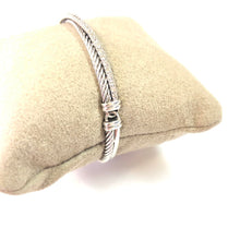 Load image into Gallery viewer, David Yurman Diamond 925 Bracelet FINE JEWELRY