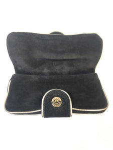 GUCCI Suede Evening Bag