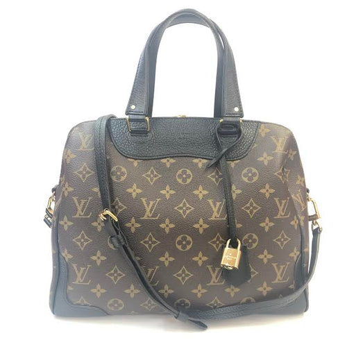 LOUIS VUITTON Retiro Noir NM Shoulder Bag