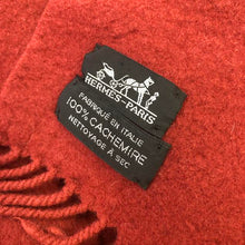 Load image into Gallery viewer, HERMES Cashmere Throw Lifestyle Collection