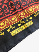 Load image into Gallery viewer, HERMES Classic 90 CM Silk Scarf
