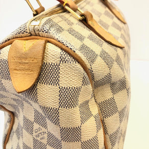 LOUIS VUITTON Damier Speedy 25