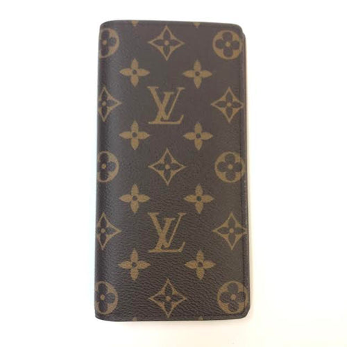 LOUIS VUITTON Brazza Monogram Wallet
