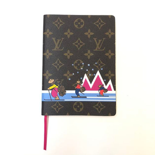 LOUIS VUITTON Christmas 2019 Notebook