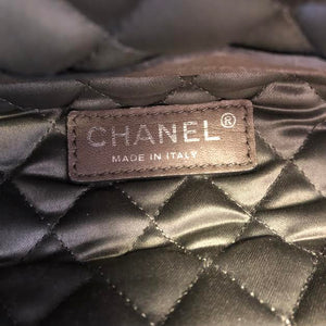 CHANEL Quilted Leather Satchel Bag