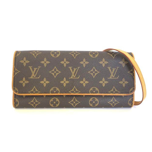 LOUIS VUITTON Pochette Twin Monogram Bag
