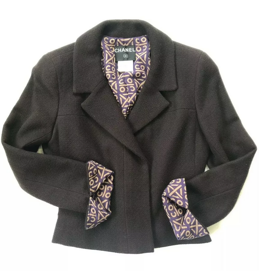 CHANEL Cashmere and Silk Jacket