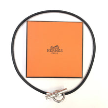 Load image into Gallery viewer, HERMES Toggle Leather Necklace