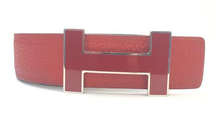"Load image into Gallery viewer, HERMES Classic ""H"" Reversible Belt"