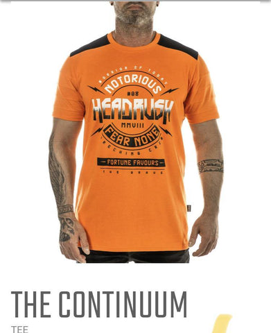 T-shirt Headrush the continuum
