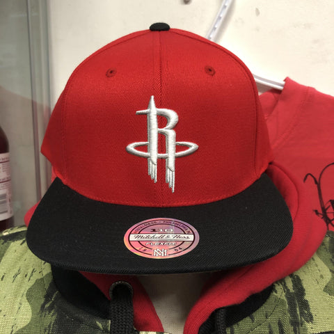 Casquette Houston Rockets Mitchell & Ness