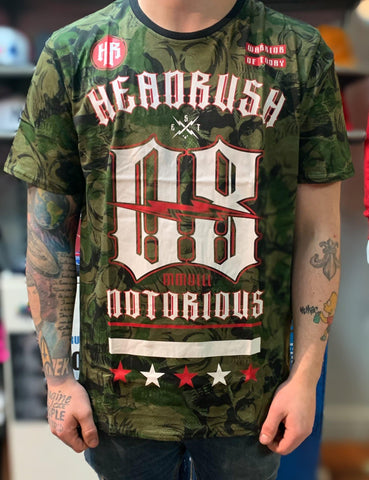 T-shirt Headrush Camo