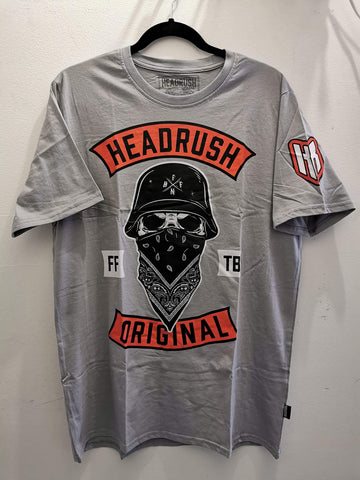 T-shirt Headrush Backfire Grey
