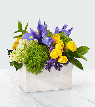 Fields of Iris Bouquet