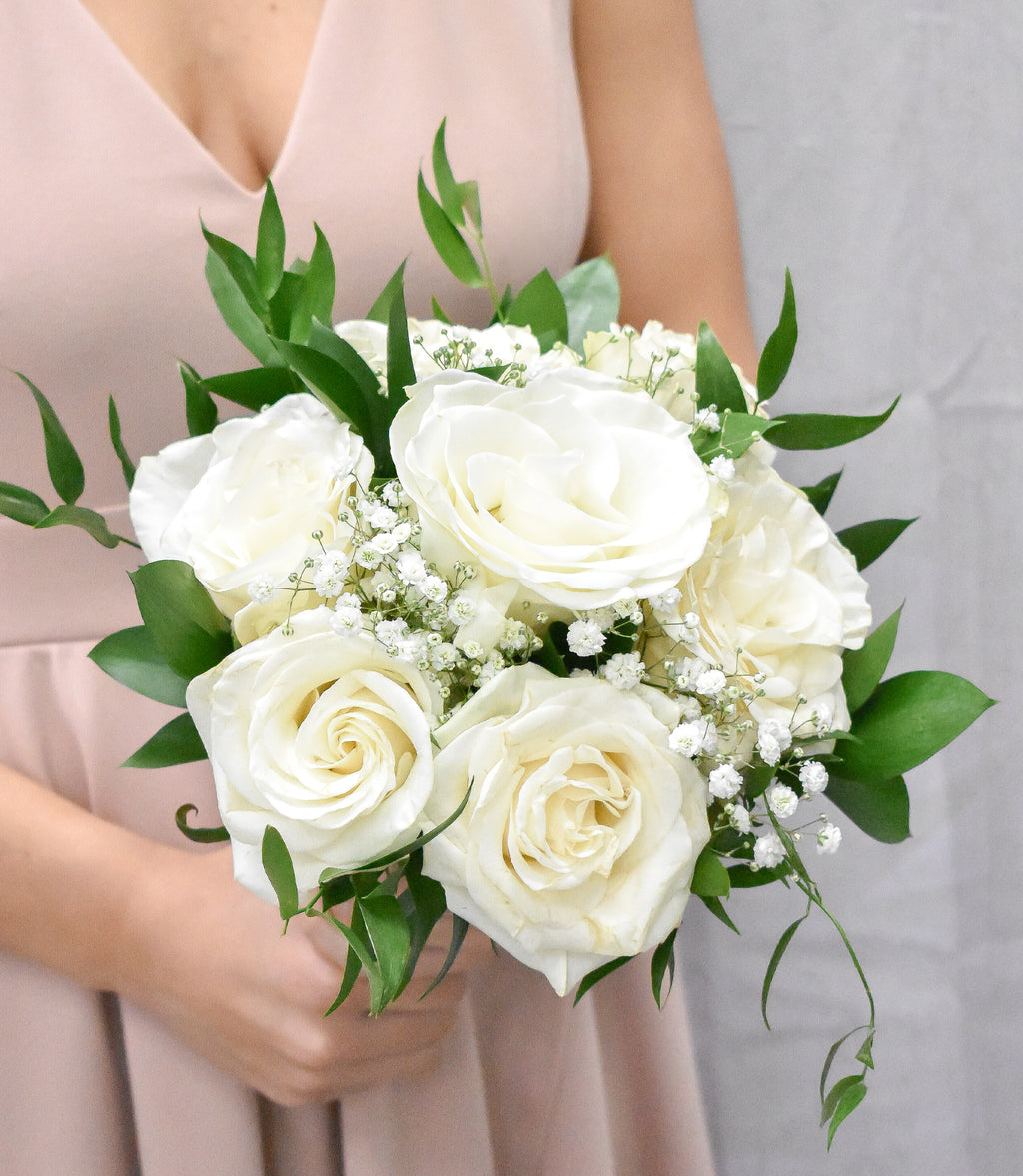 5-7 Roses Hand Tied Prom Special