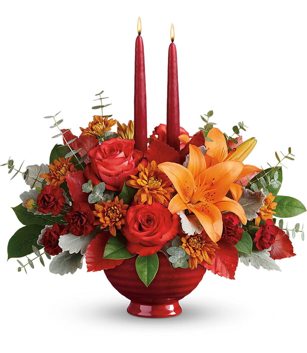 Autumn In Bloom Centerpiece