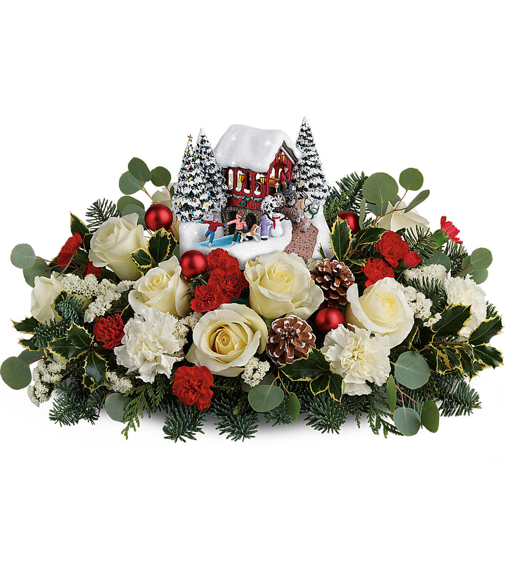 Thomas Kinkade's Christmas Bridge Bouquet