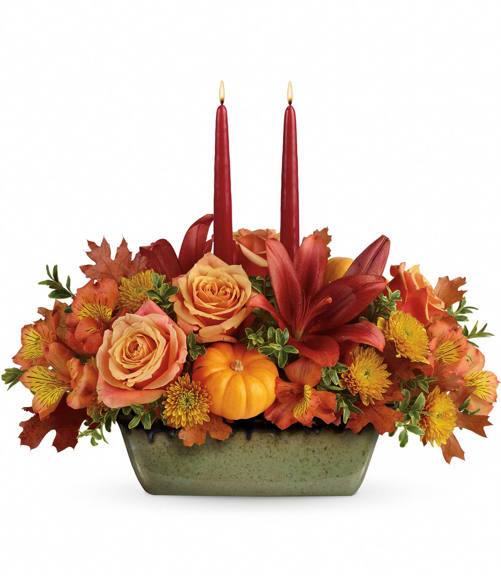 Country Oven Centerpiece