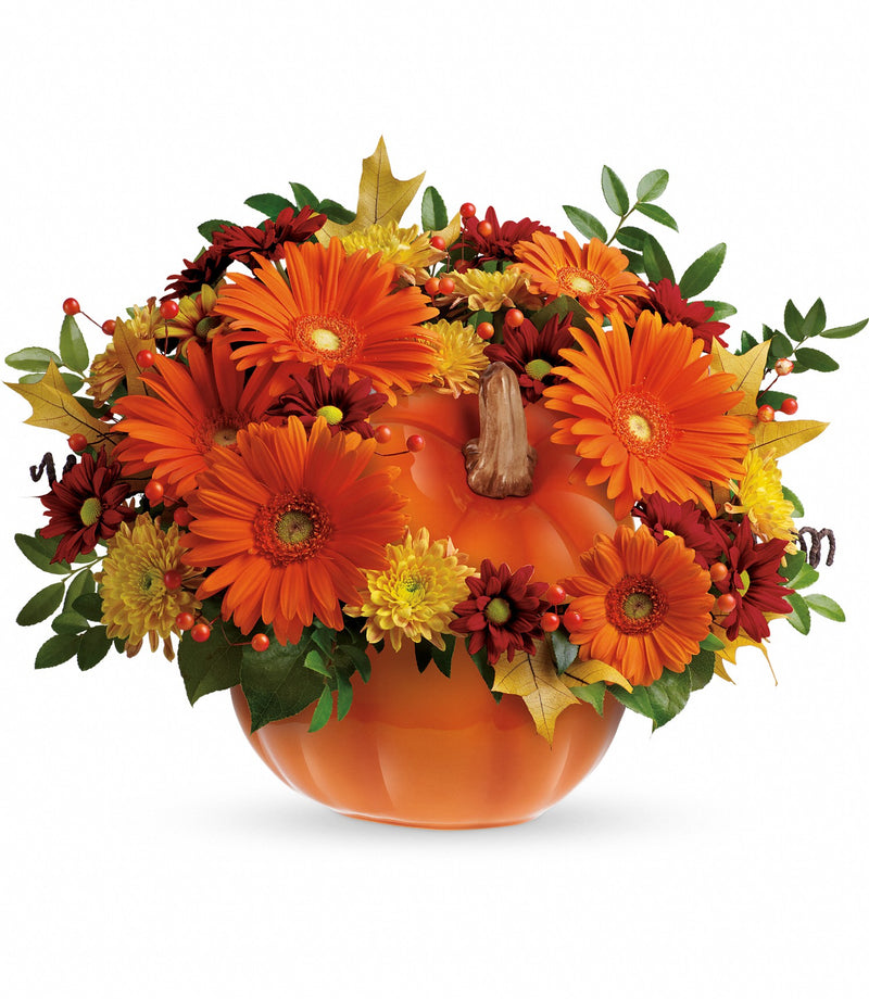 Country Pumpkin Centerpiece
