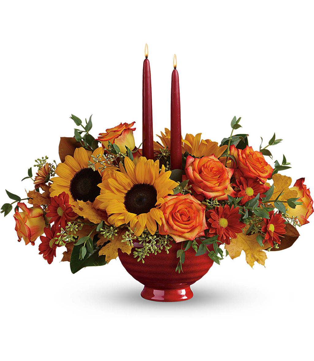 Earthly Autumn Centerpiece