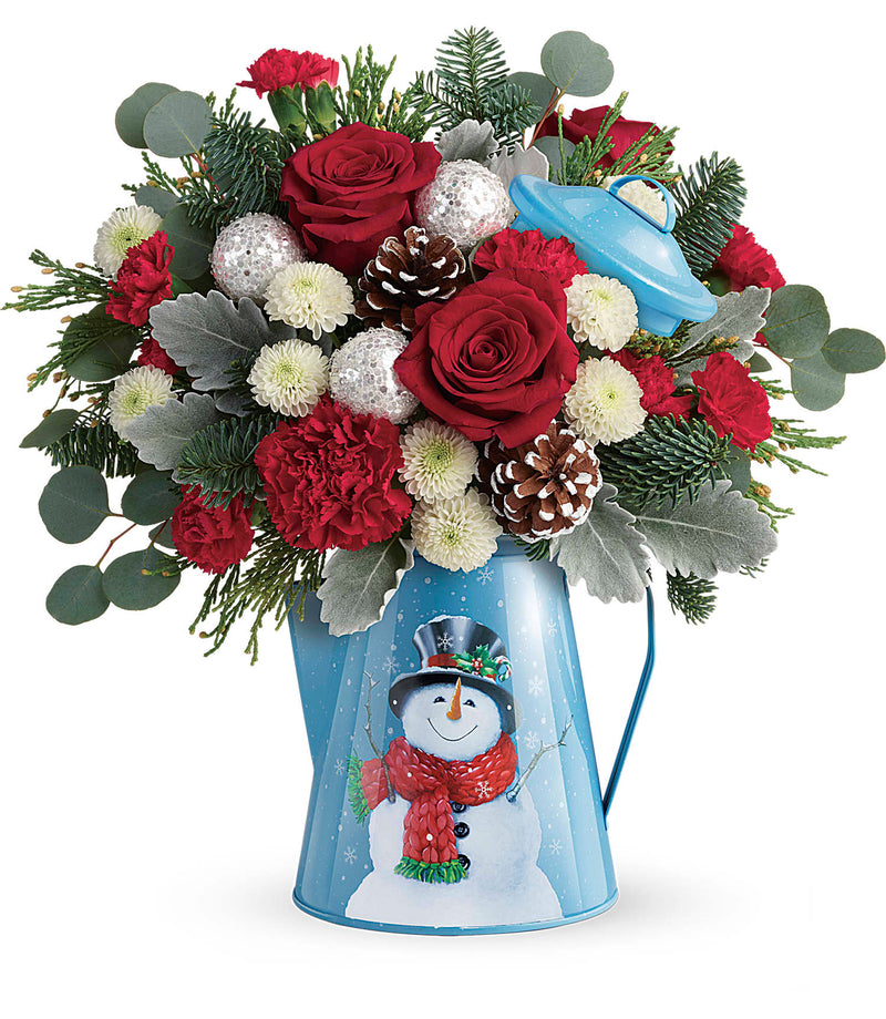Frosty Enchantment Bouquet