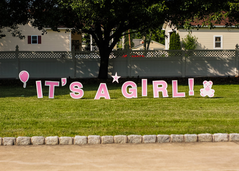 It's a Girl Sign