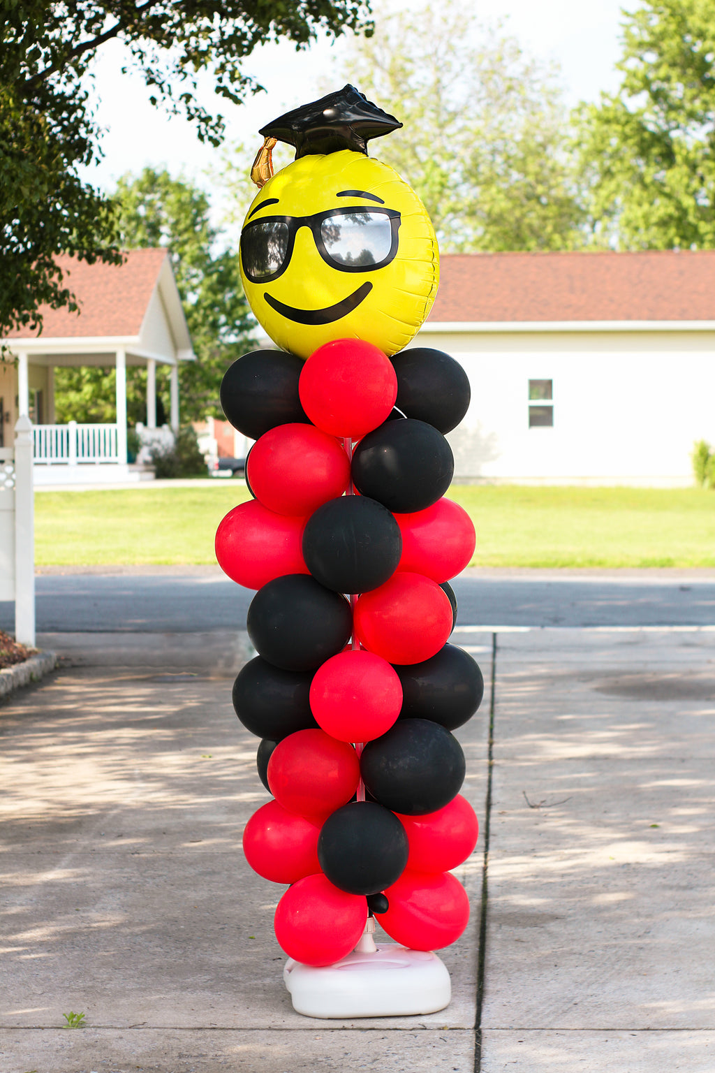 Pillars of Balloons