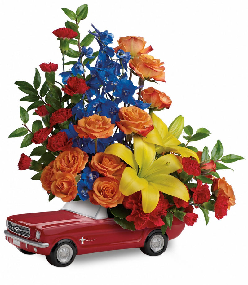 Living The Dream '65 Ford Mustang Bouquet