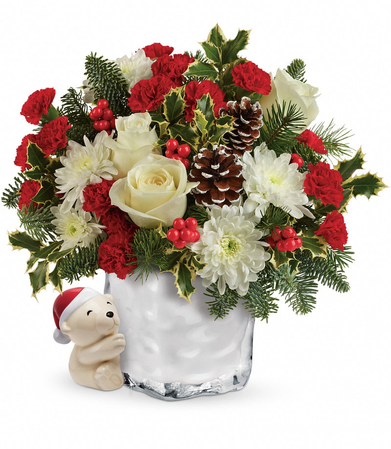 Send a Hug Bear Buddy Bouquet