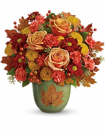 Heart Of Fall Bouquet