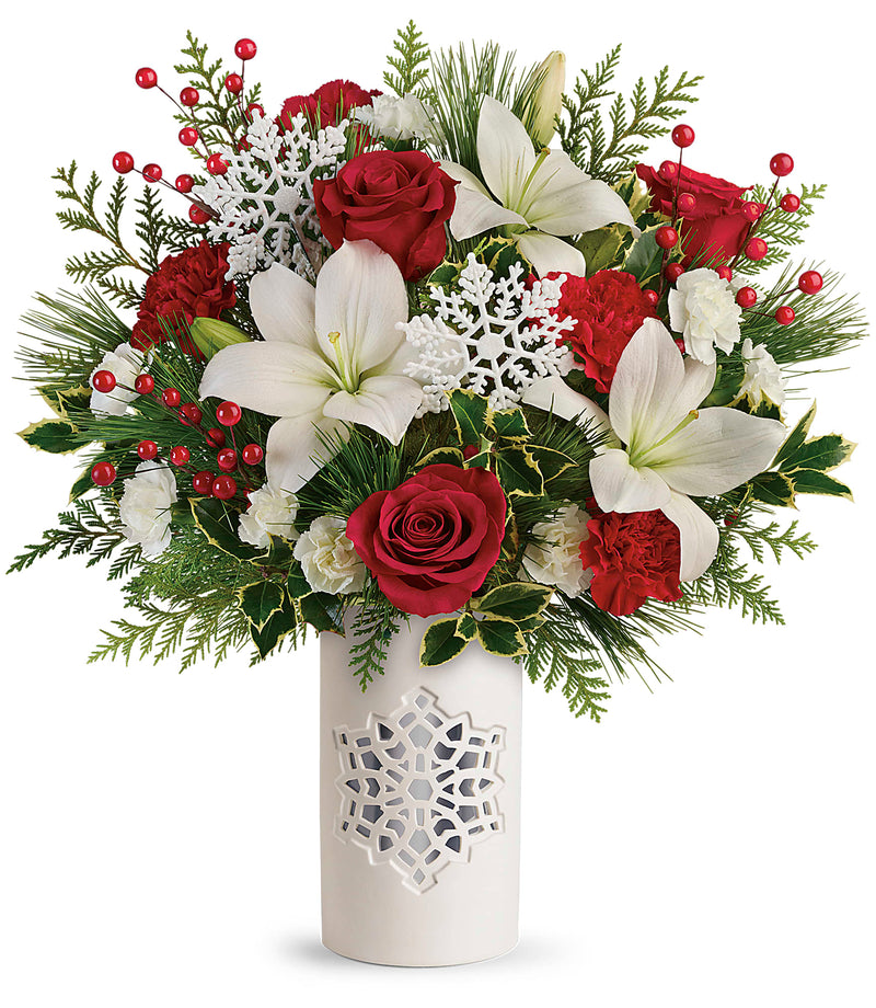 Festive Flurries Bouquet
