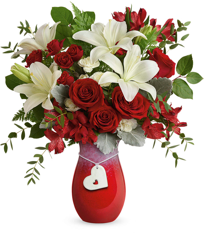 Charming Heart Bouquet