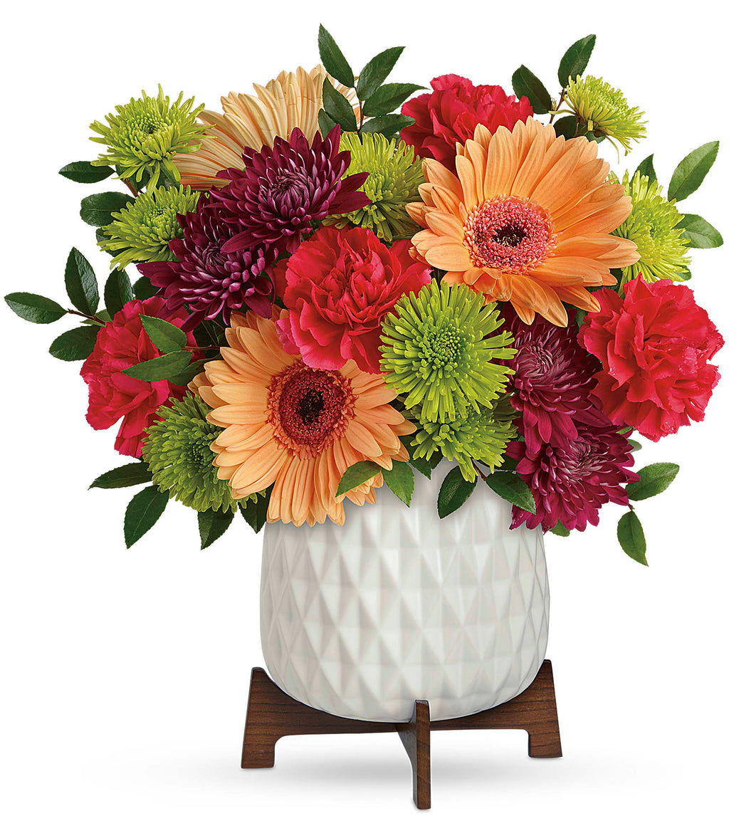 Mid Mod Brights Bouquet