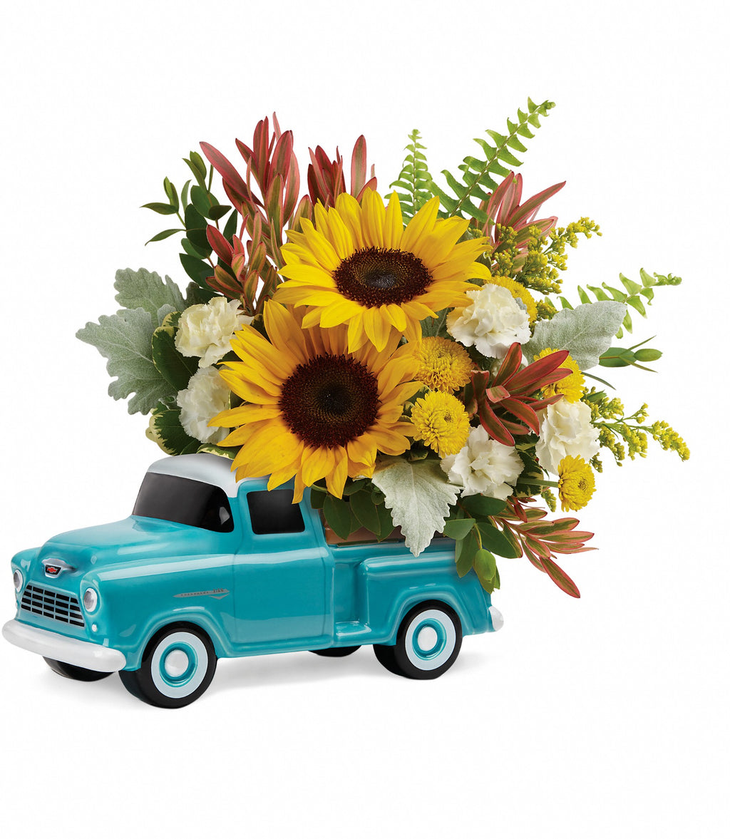 Chevy Pick Up Truck Bouquet