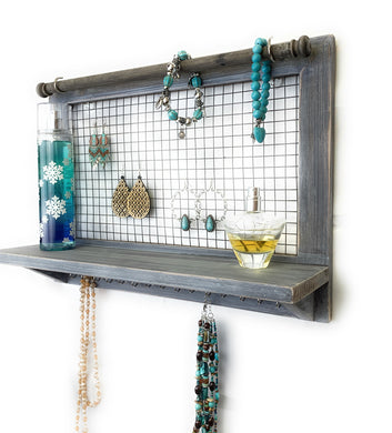 Wooden Jewelry Organizer