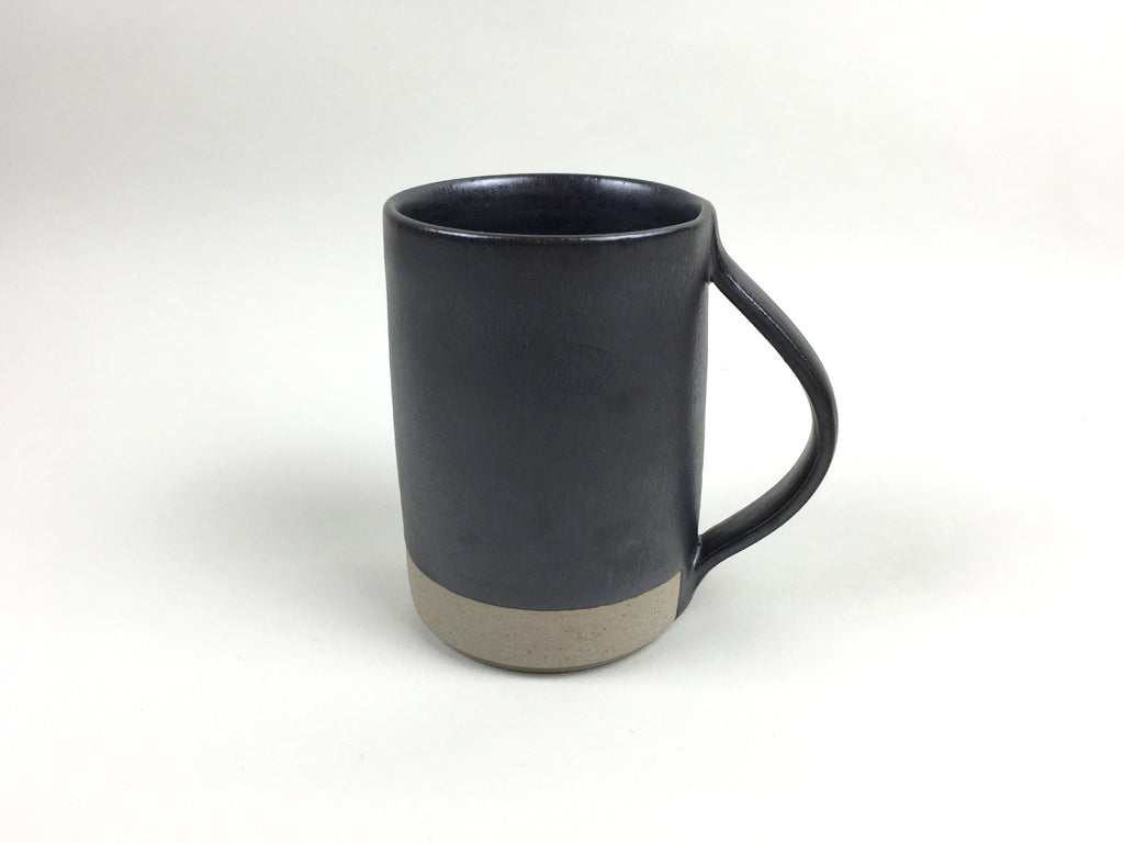 French Stoneware Basic Mug - Anthracite - eyespy